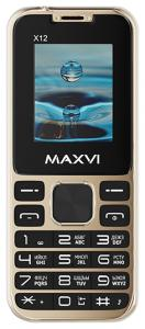 Maxvi X12 metallic gold